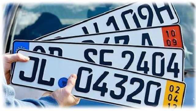 Оформление автомобилей на еврономерах